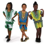 Childrens Dashiki Shorts Set @ $30 Each
